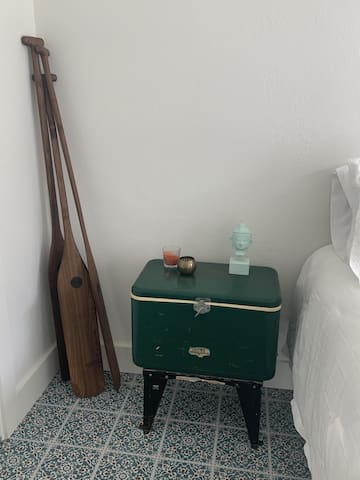 One-of-a-kind pieces of furnishings.  Created by your's truly.