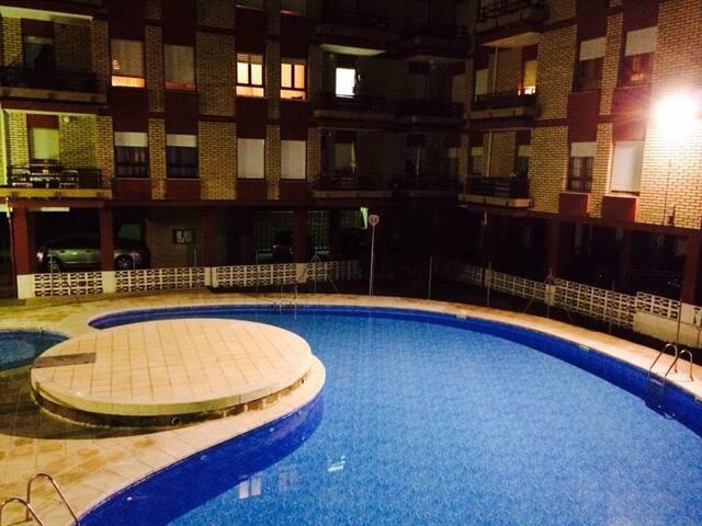 Apartamento en pueblo de León