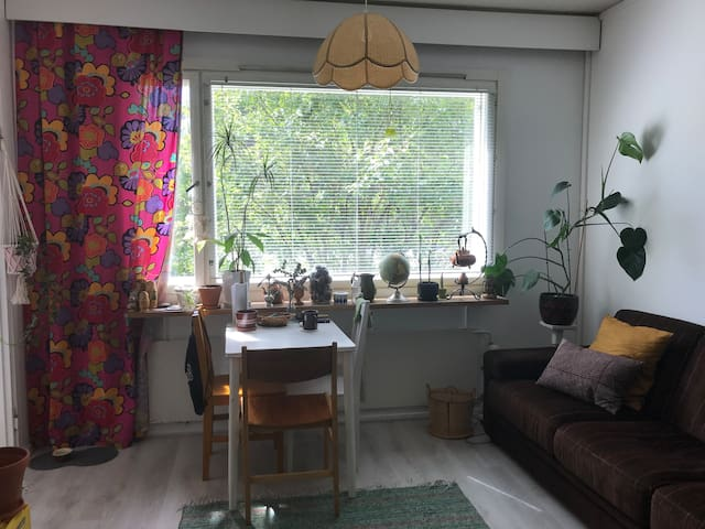 a cozy two room apartment in Kontula, Helsinki
