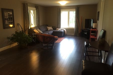 Cozy Walkout Basement App. with private entrance!! - Moncton - Appartement