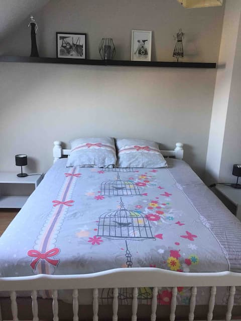 Chambre à louer dans notre maison 35€ la nuit