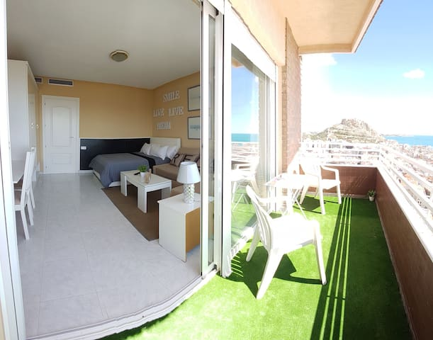 #Loft in Love/Mirador 22Panoramic Views to the sea