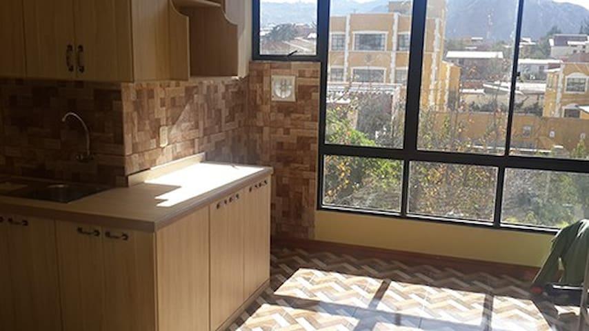 Departamento soleado y nuevo - La Paz - Apartment