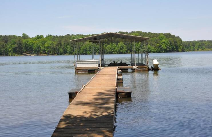 Take out the paddle boat, the kayaks, or sit and relax on the tubes and enjoy!