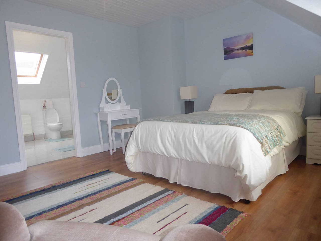 Double bedroom near the Skelligs