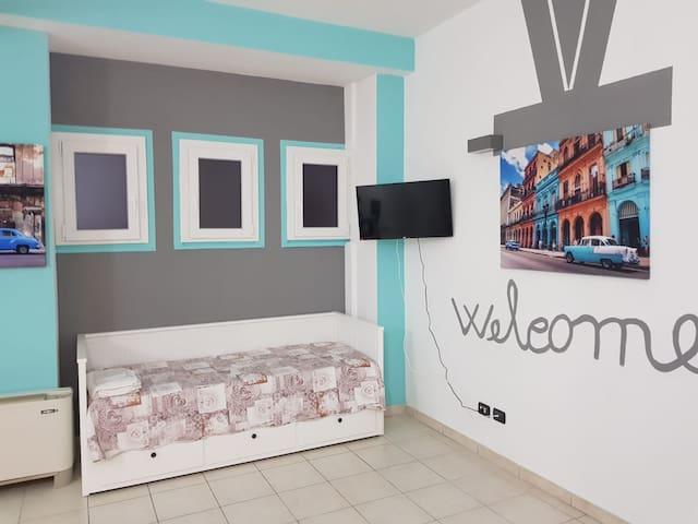 Large studio apartment in Milan  (app.2)