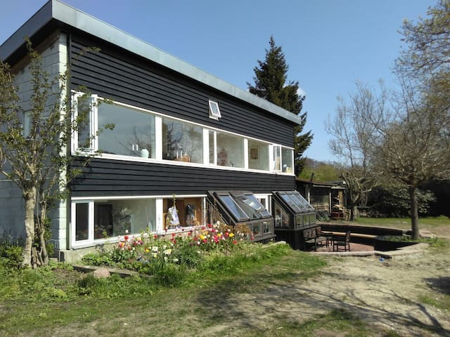 Architect's villa 20 min from Cph - Holte - Hus