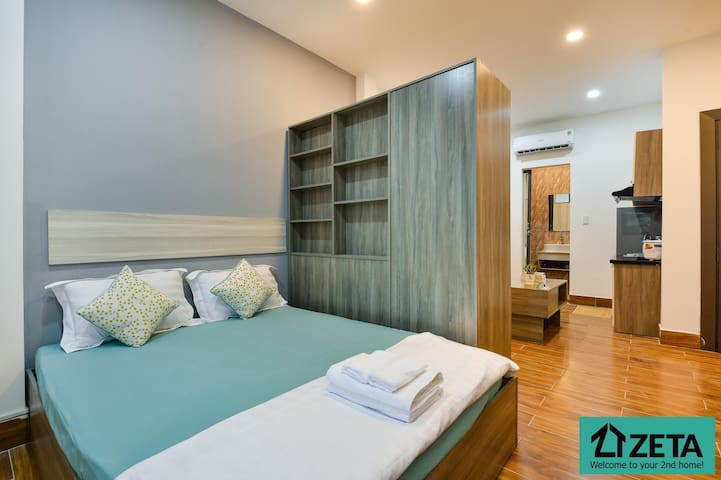 Zetahome Airland 🖤 Warm n Cozy Serviced Apartment