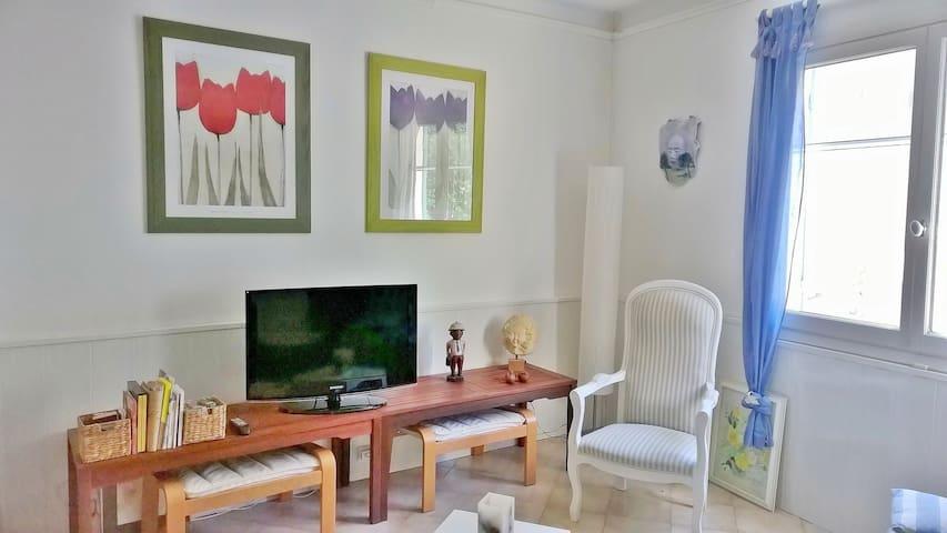 Maison +terrasse au coeur  d'un village provençal