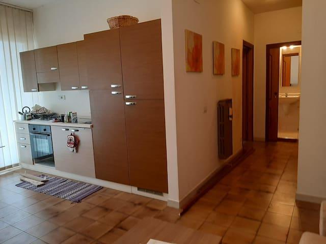 Primo piano appartamento 55 mq con balcone