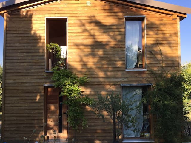 Maison écologique dans le Luberon
