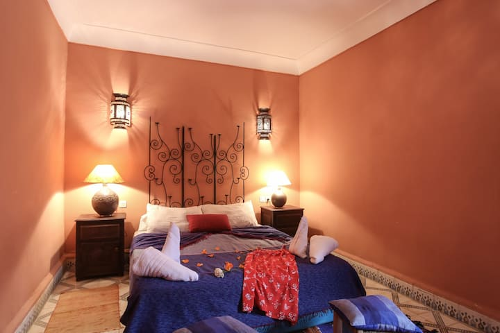 Cosy room in a beautiful riad