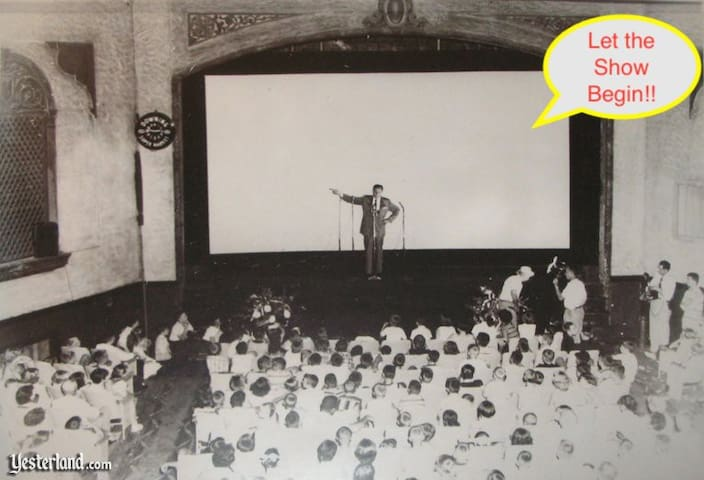 "Walt Disney doing ""The Great Locomotive Chase"" Premier!"