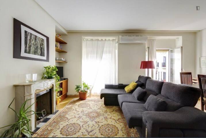 Habitación privada individual. Zona Plaza España