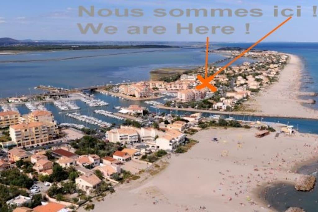 des km de plages de sable fin... Vive la mer !!!
