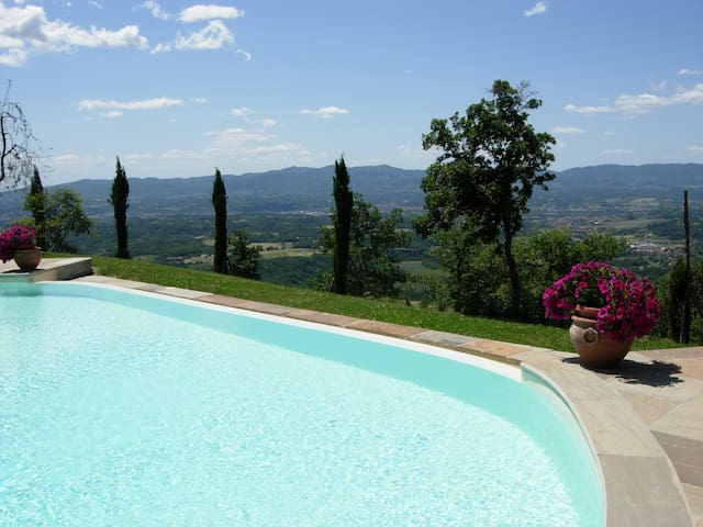 Tuscan Sun and View - Loro Ciuffenna
