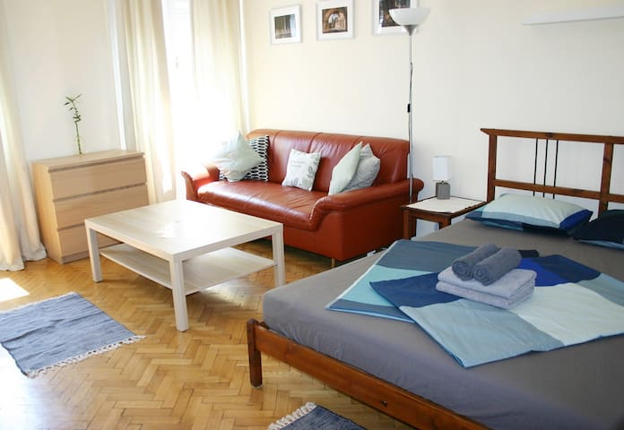 Big and sunny double room