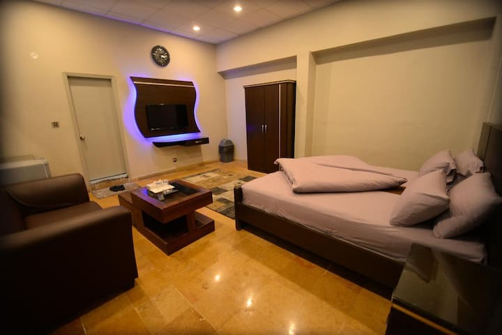 Queen Bed & Sofa