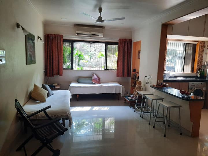 Green Studio near Andheri station & Intl airport