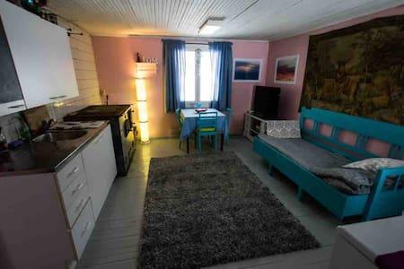 Vintage cottage by the sea - retro merimiehenmökki