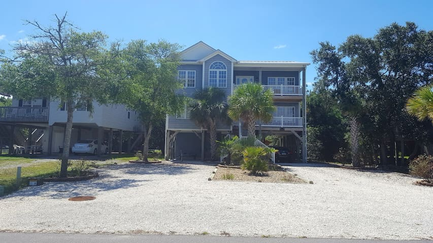 Large Home on Quiet Street Just Steps From Beach