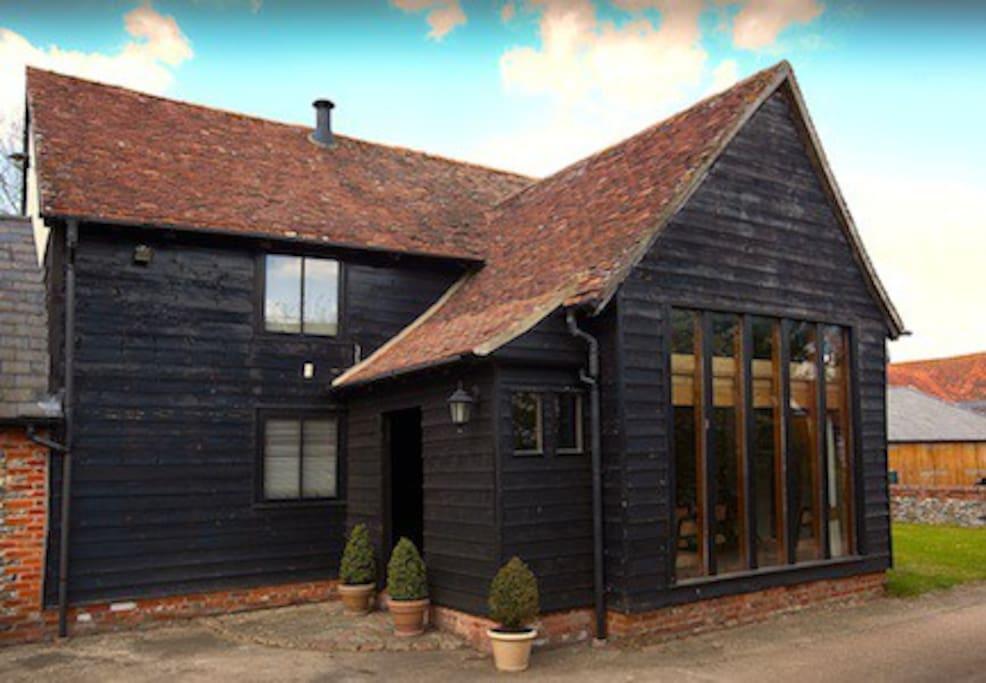 Hall Barn's Front Door