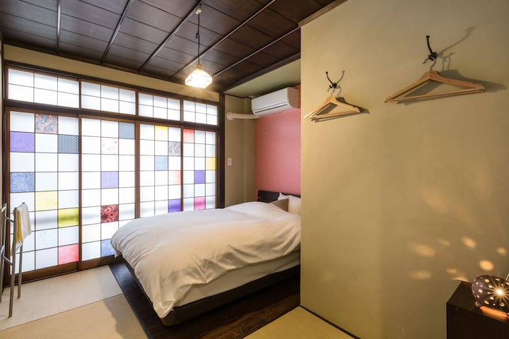 Expo Hostel Ori Room7, 500yen bike for your stay