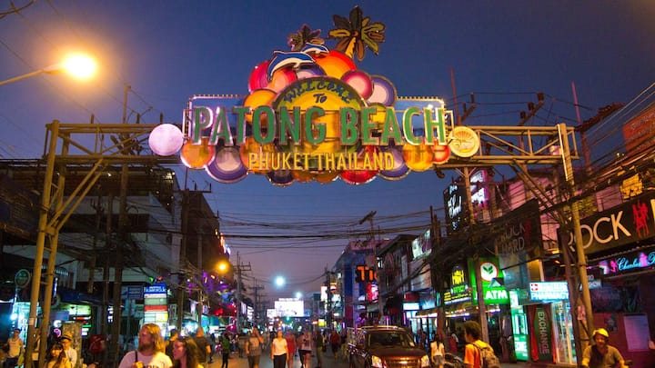 ♫ A Single Budget room in patong night live area ♫