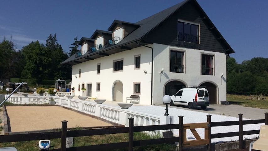Luxury farm-Manor at 30 min Geneva/Annecy/skilifts