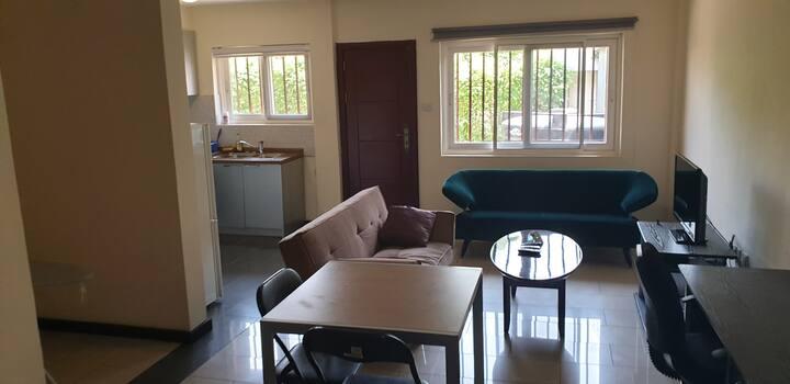 Spacious en-suite studio apartment