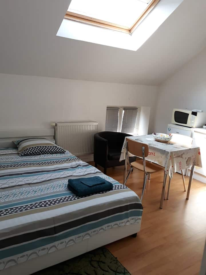 Studio near Charleroi airport