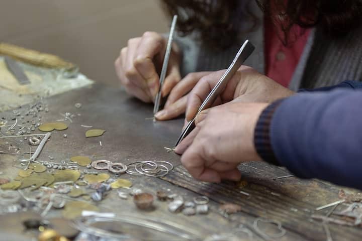 Preparing filling pieces