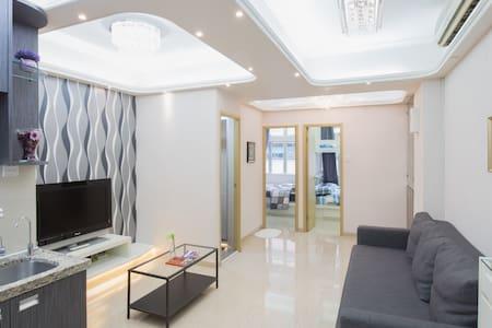 Terrace 3BR 2WR 4-9ppl 5min CWB MTR - Hong Kong - Apartment
