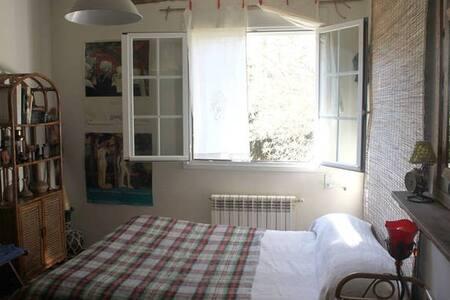 habitación doble en chalet frente al pantano - El Paraíso - Bed & Breakfast