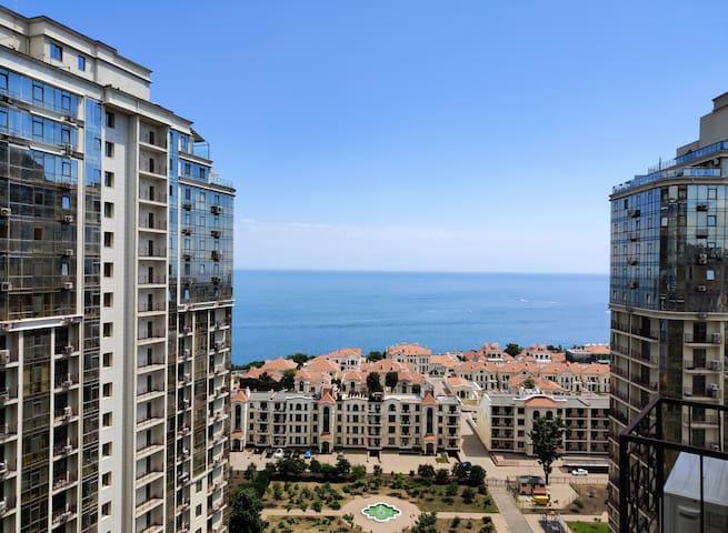Квартира в Аркадии с видом на море