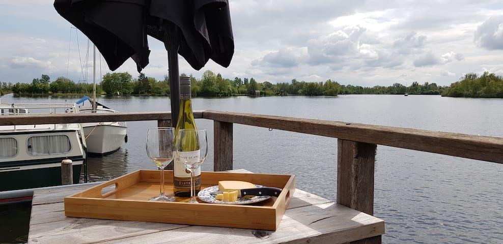 Stylish Houseboat with Sauna near Amsterdam