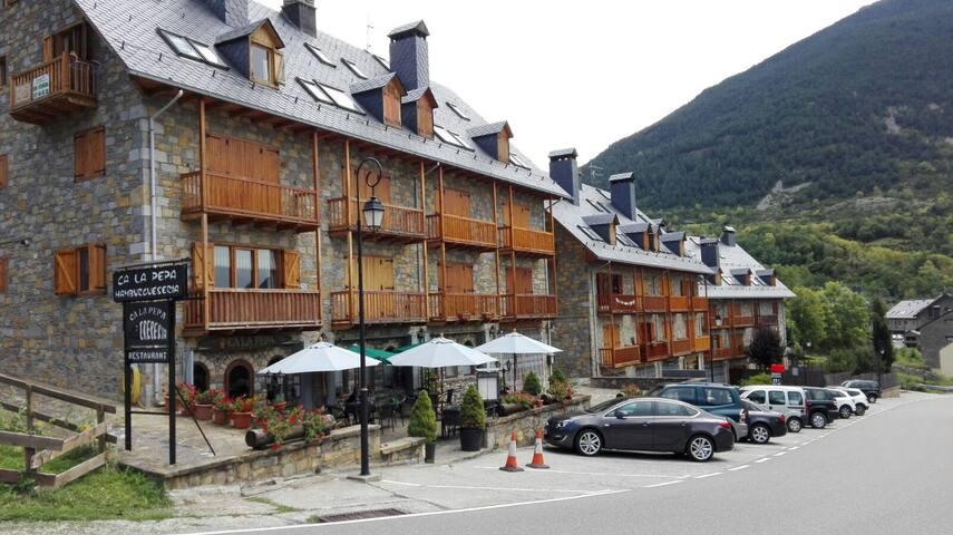 Duplex en la Vall de Boí, plena naturaleza.