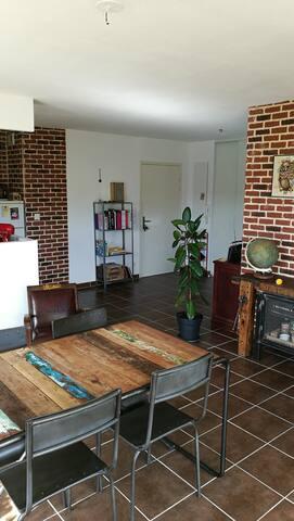 Chambre cosy dans un appartement de charme. - Toulouse