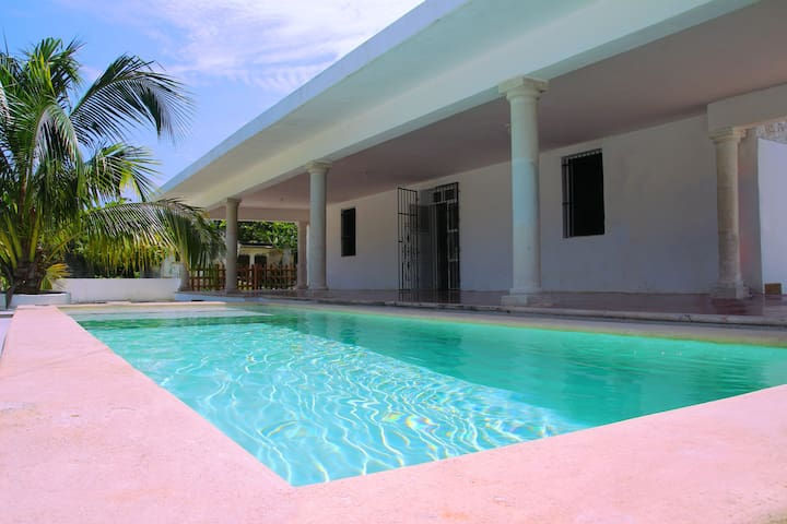 Well located Beach House with Swimming Pool