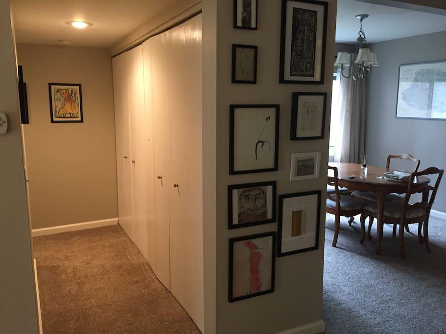 Dining area/hallway