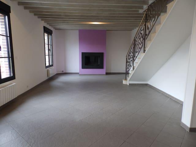 Maison de charme idéalement située en Normandie - Pitres - Dom
