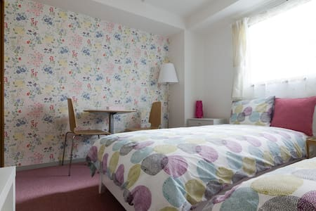 Free WIFI Near Umeda! Comfort Riverside room 202 - Osaka