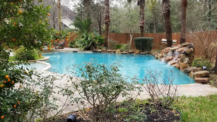 Gorgeous luxury mansion Pool House. Private oasis!