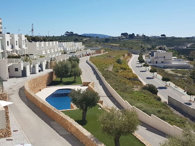 Modern linked villa in Benissa with seaviews - Benissa - Αρχοντικό