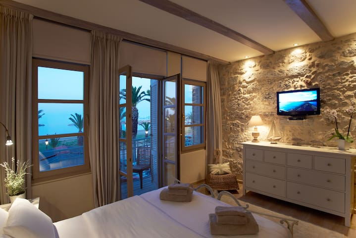Sea View at Casa Maistra beach apt. - Rethymno - Квартира