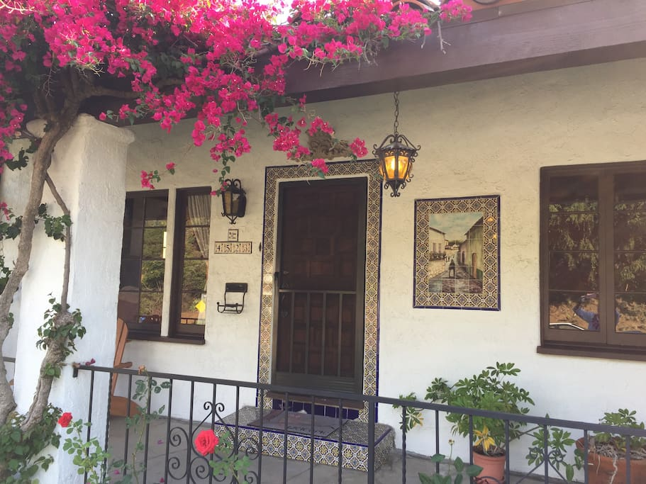 1930's classic California Spanish home!  Red tile roof and charm!