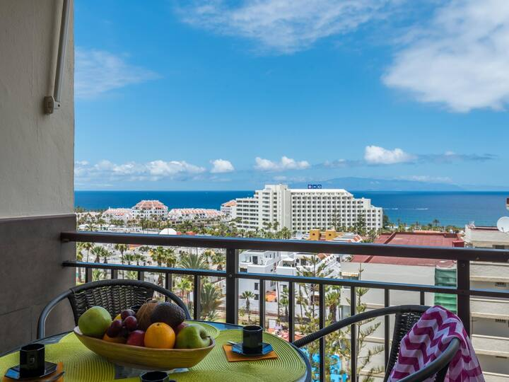 1020 INCREDIBLE VIEW! Las Americas, Sea Front!