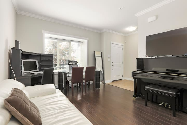 Most Central. 1 minute walk to Royal Oak Skytrain.