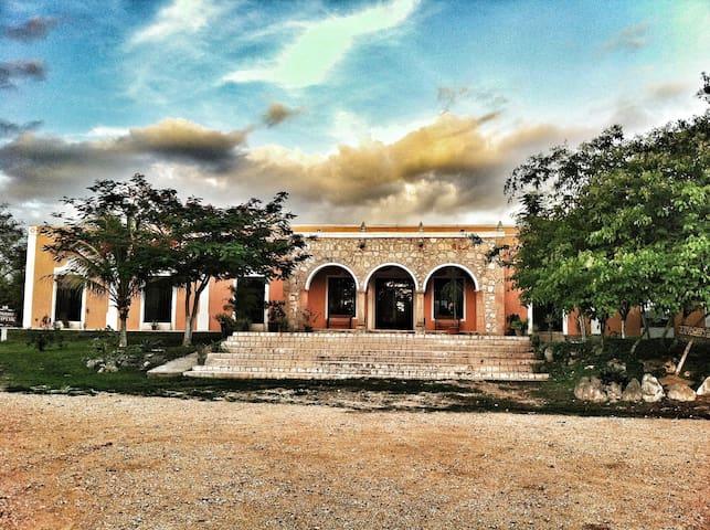Hacienda La Guadalupana- Cabañas - Yucatan - Doğa içinde pansiyon
