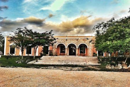 Hacienda La Guadalupana- Cabañas - Alojamento ecológico